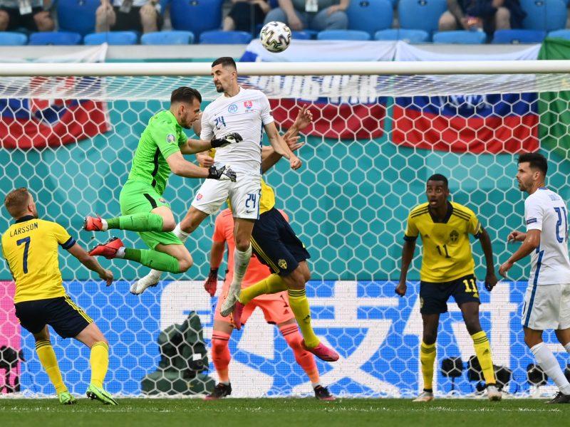 Europos futbolo čempionatas: Švedija–Slovakija 1:0