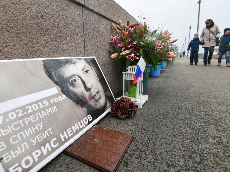 ES ir JAV ragina Rusiją iki galo ištirti B. Nemcovo nužudymą