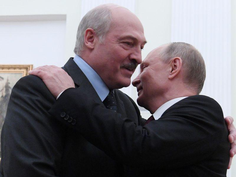 V. Putinas ir A. Lukašenka Sočyje aptars dvišalius santykius