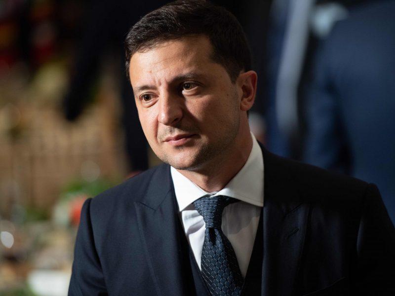 Ukrainos prezidentas V. Zelenskis lankysis Lietuvoje