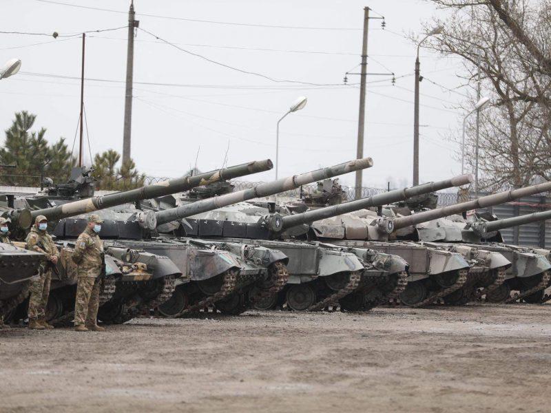 JAV skyrė 155 mln. dolerių paramos paketą Ukrainai