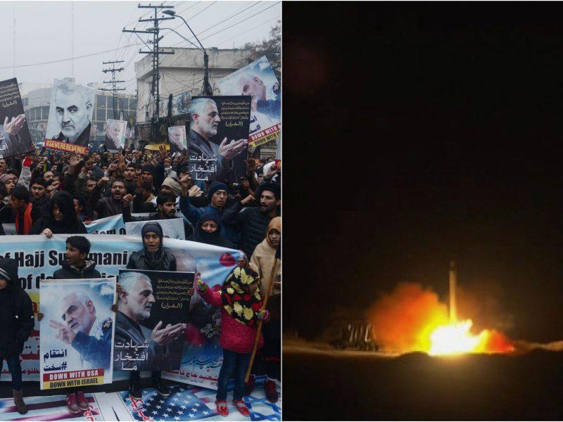 Iranas specialiai planavo smūgius, kad padarytų kuo mažiau žalos JAV?