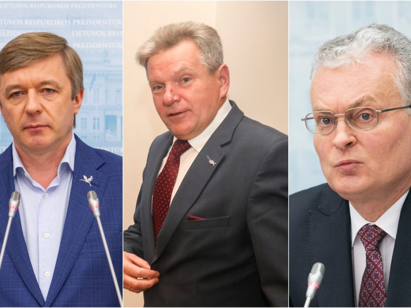 Įvertino G. Nausėdos poziciją dėl J. Narkevičiaus: prezidentas stokoja patirties