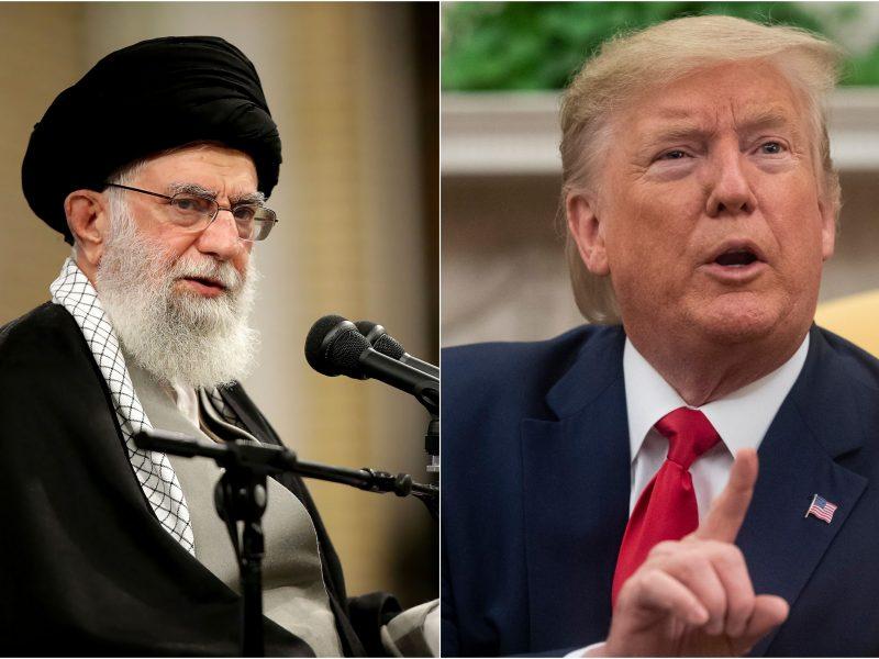 Irano aukščiausiasis lyderis: Jungtinėms Valstijoms skeltas antausis