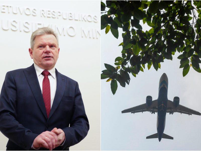 J. Narkevičius: šiandien baigiame užsakomuosius skrydžius