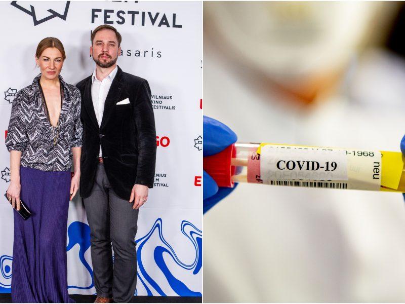 Buvusi J. Sakalausko žmona užsikrėtė koronavirusu
