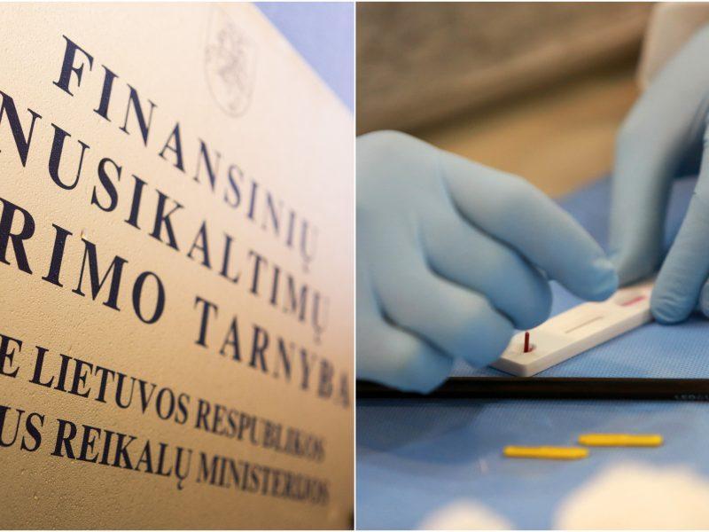 Premjeras: kodėl tyrimą dėl greitųjų testų atlieka FNTT?