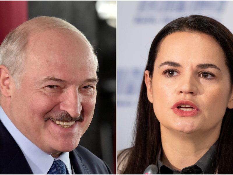 S. Cichanouskaja prašo tarptautinio spaudimo A. Lukašenkai