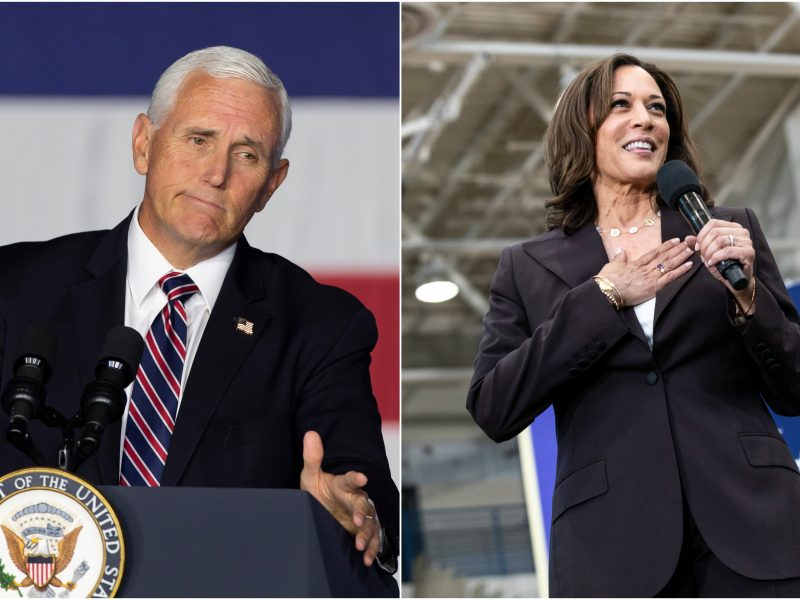 JAV kandidatai į viceprezidentus susirungs vieninteliuose debatuose