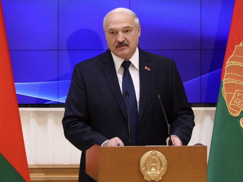 Baltarusijos lyderis žada, kad šalis netaps Rusijos dalimi