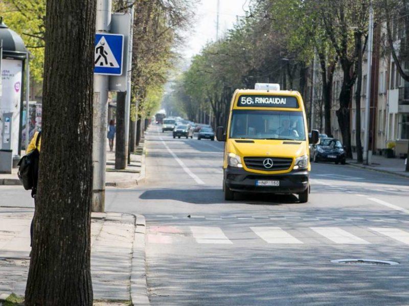 Viešojo transporto permainos Kauno rajone įstrigo teismų karuselėje