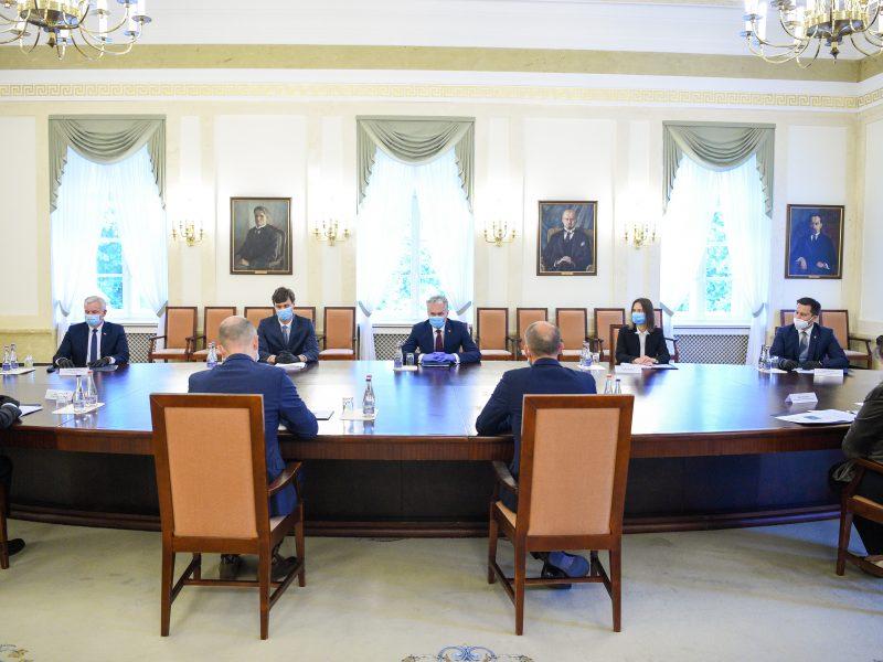 Prezidentas siūlo įstaigas vertinti pagal jų atsparumą korupcijai