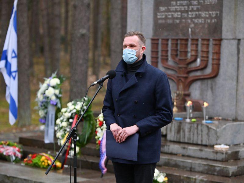 Panerių memoriale pagerbtos Holokausto aukos