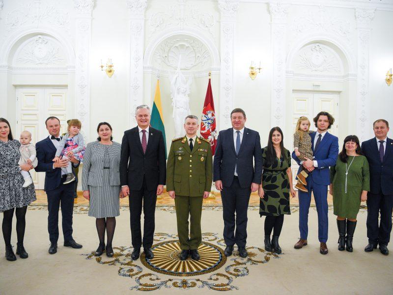 Laipsnių Lietuvos karininkams suteikimas