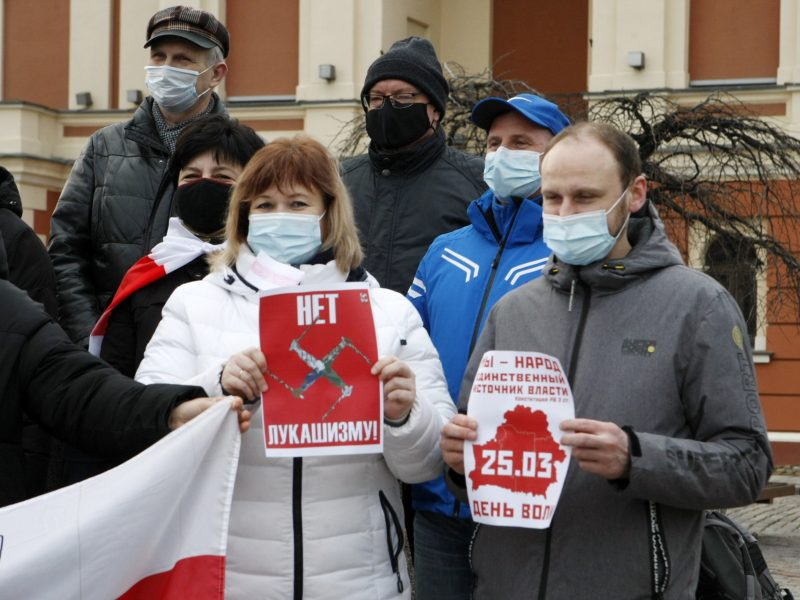 Nuo represijų besislepiantys baltarusiai: A. Lukašenka gali griebtis dar drastiškesnių veiksmų