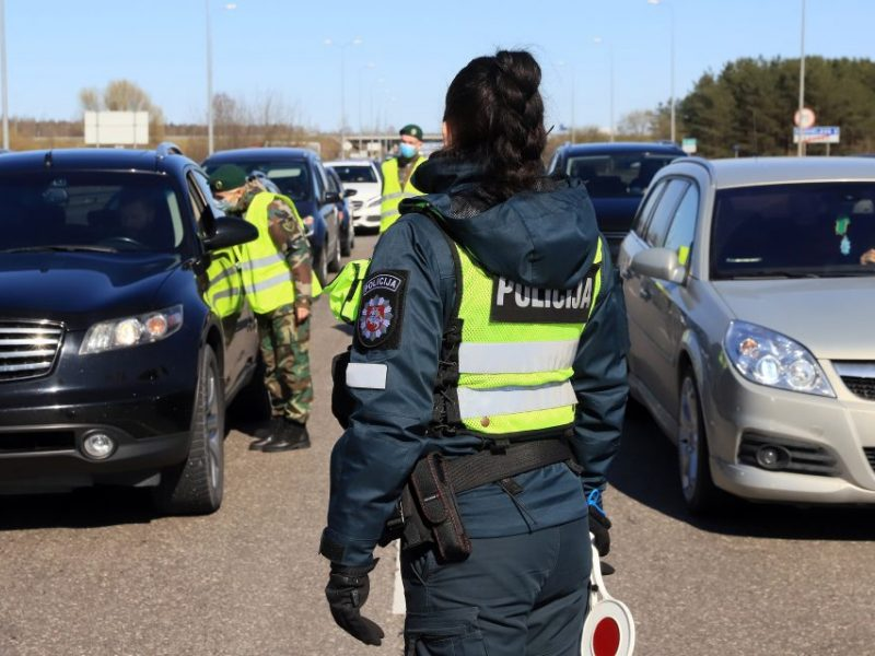 E. Šileris: Lietuvos policijos darbą karantino metu galima vertinti aštuonetu