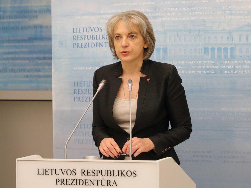 A. Skaisgirytė: EVT bus aptartos sankcijos Rusijai ir Baltarusijai