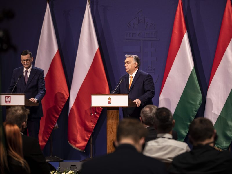 Ginčas dėl ES biudžeto: Vengrija ir Lenkija lieka vieningos