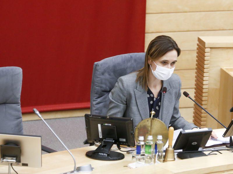 V. Čmilytė-Nielsen apie kitų metų biudžetą: dalis nueinančios valdžios planų yra nepagrįsti
