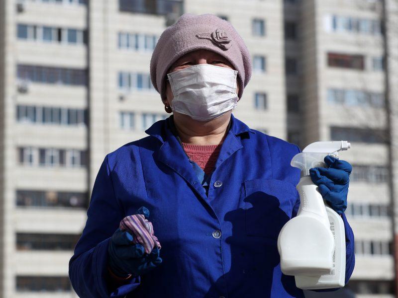 Rusijoje užsikrėtusiųjų koronavirusu skaičius pasiekė 840