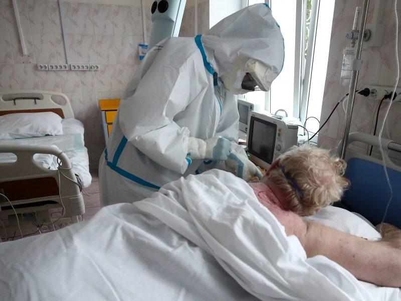 Rusijoje nustatyta 5 212 naujų koronaviruso atvejų