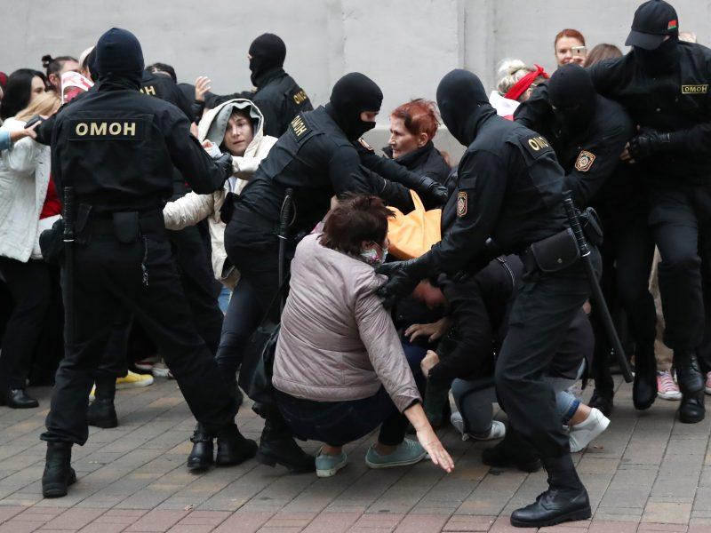 Ginčas ES blokuoja sankcijas Baltarusijai