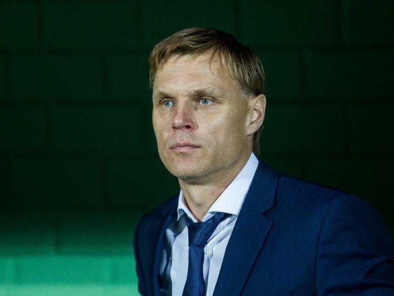 Lietuvos futbolo rinktinės treneris E. Jankauskas: turime išlikti pozityvūs