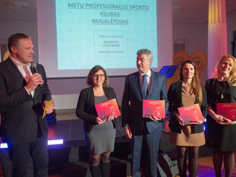 Lietuvos sporto vadybos apdovanojimai