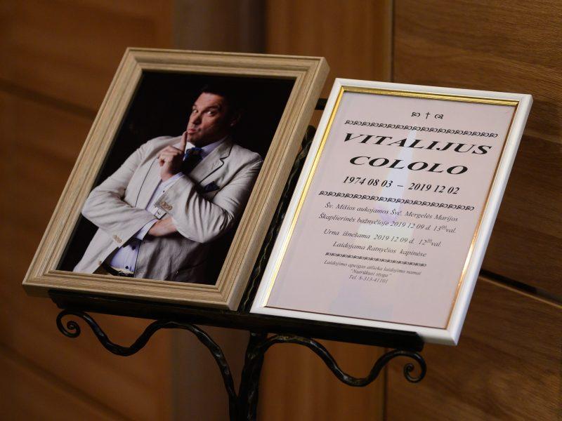 Druskininkuose atsisveikinama su humoristu V. Cololo