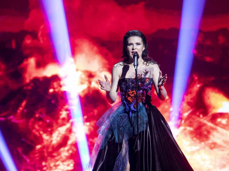 """Pirmojo nacionalinės """"Eurovizijos """" atrankos pusfinalio filmavimas"""