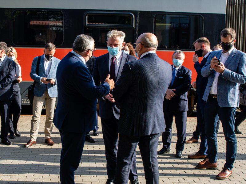 J. Narkevičiaus, A. Adamczyko ir V. Matijošaičio susitikimas Kaune