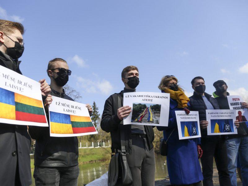 Akcija prieš Rusijos agresiją Ukrainoje