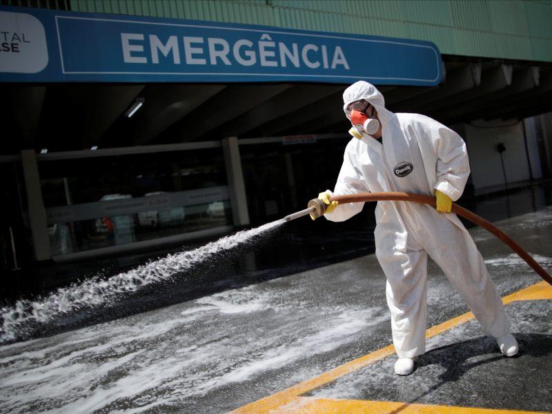 AFP: Lotynų Amerikoje COVID-19 atvejų skaičius viršijo 20 000