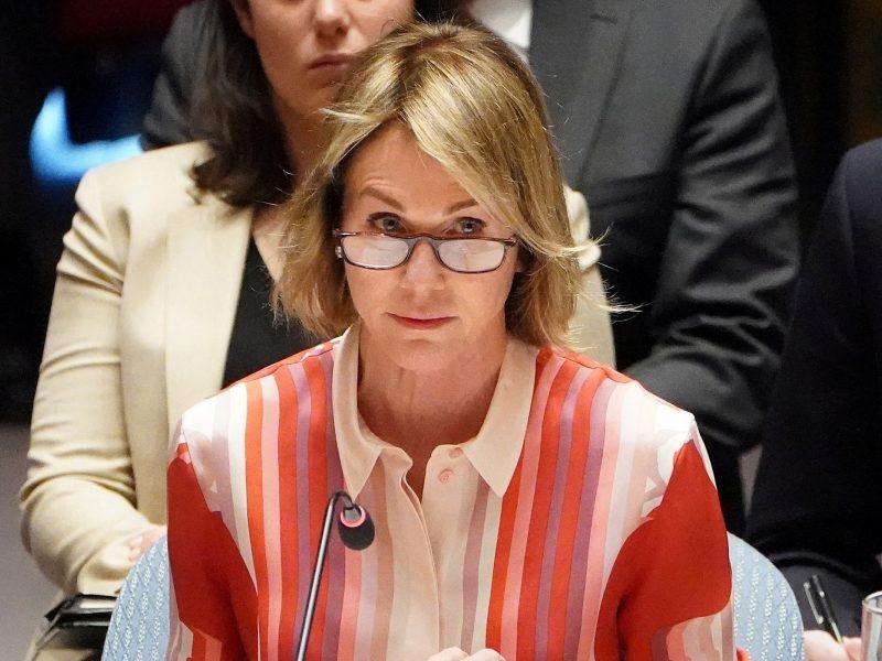 JAV Rusijai perdavė rezoliucijos projektą dėl ginklų embargo Iranui
