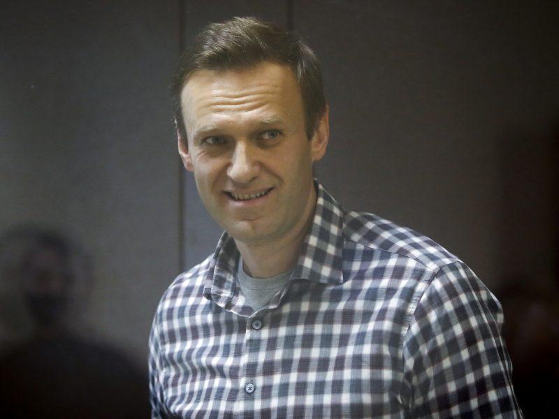 Advokatė: A. Navalną kamuoja dviguba išvarža
