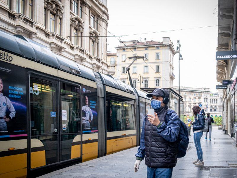 Italijoje toliau mažėja esamų COVID-19 pacientų skaičius