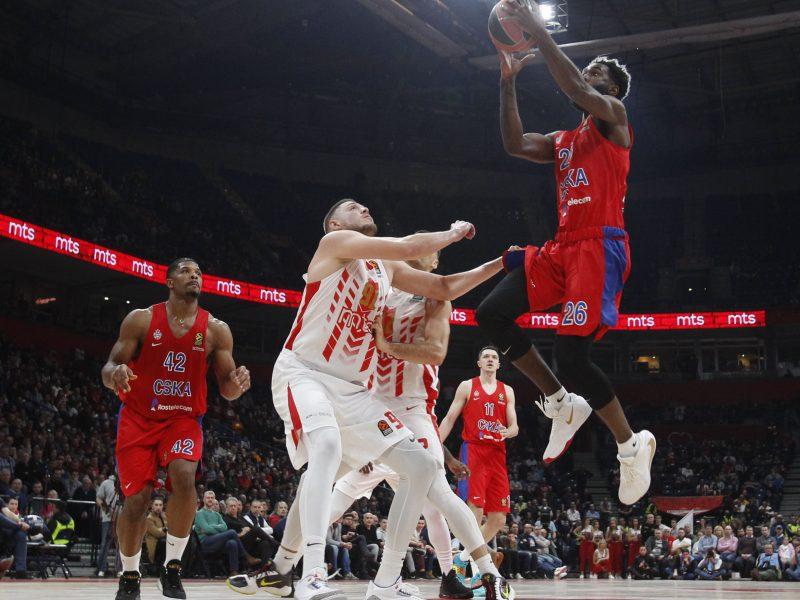 CSKA išsivežė sunkią pergalę iš Belgrado