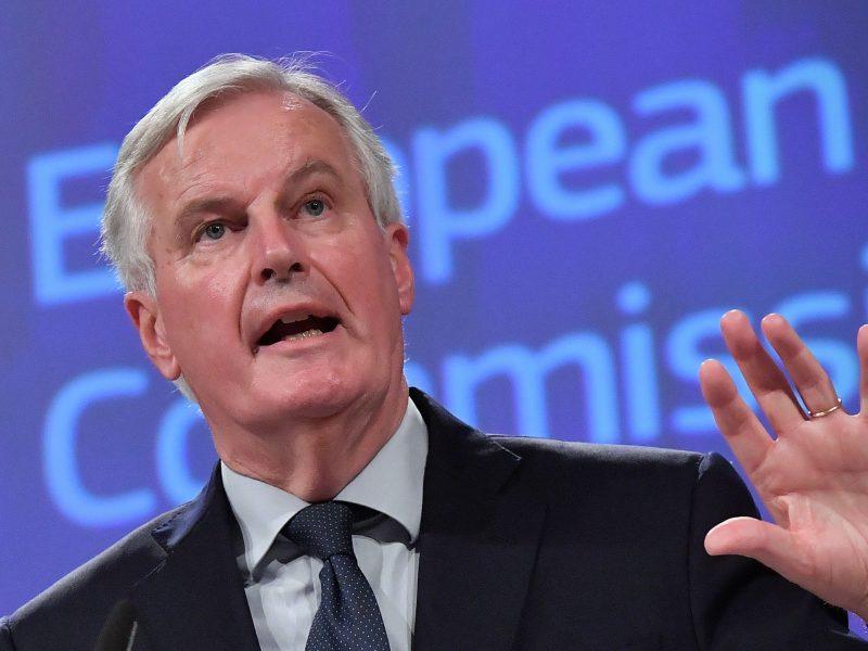 """M. Barnier: """"Brexit"""" sutartis užkerta kelią realios sienos Airijoje atsiradimui"""