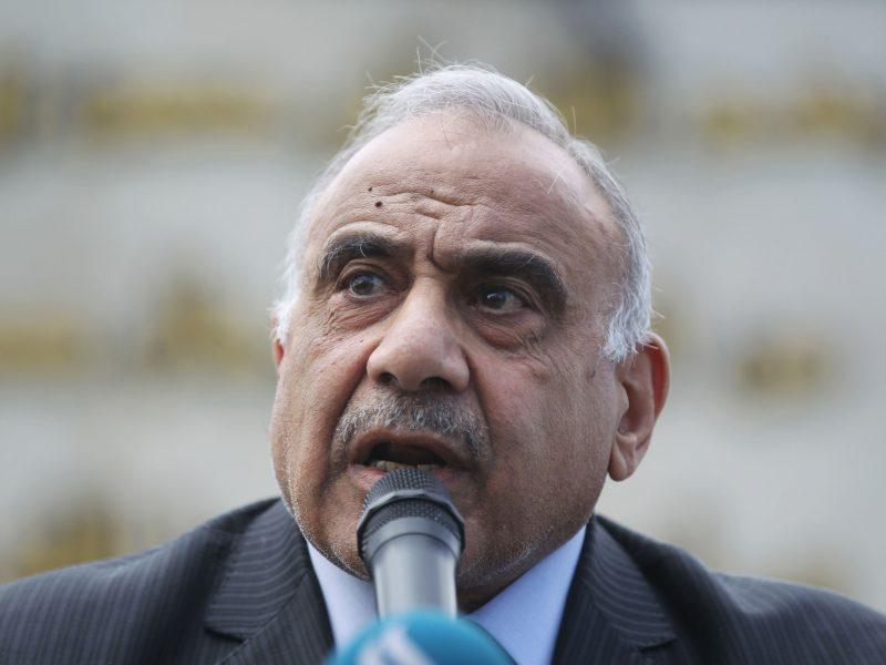 JAV vyriausybė nekalbės su Iraku dėl karių išvedimo