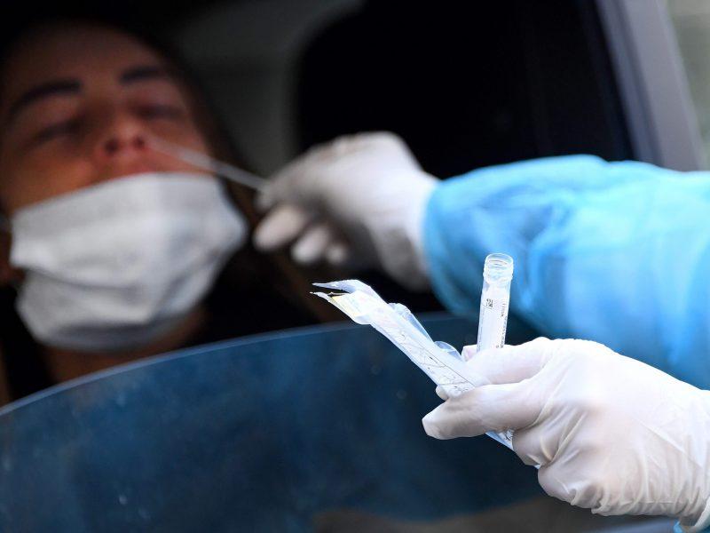 Niujorko valstijoje nuo koronaviruso mirus dar 100 žmonių, aukų padaugėjo iki 385