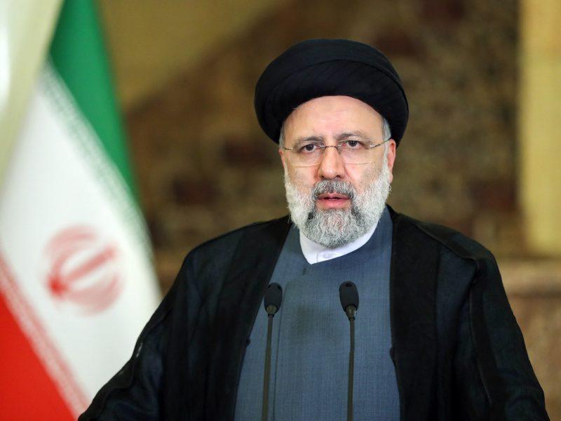 Irano prezidentas E. Raisi: JAV pastangos pasiekti hegemoniją apgailėtinai žlugo