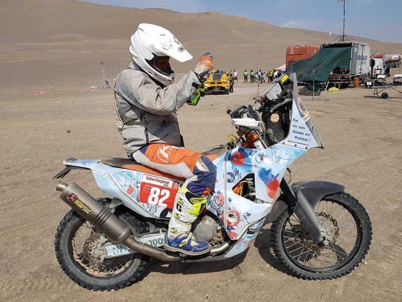 """B. Bardauskas penktame Dakaro ralio etape pateko į """"Top-10"""""""