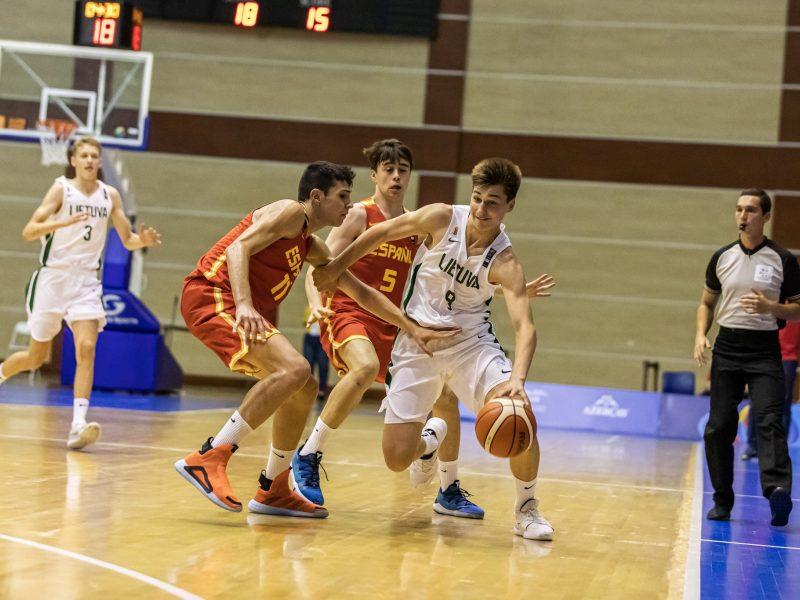 Lietuvos 16-mečiai krepšininkai neprasibrovė į festivalio pusfinalį