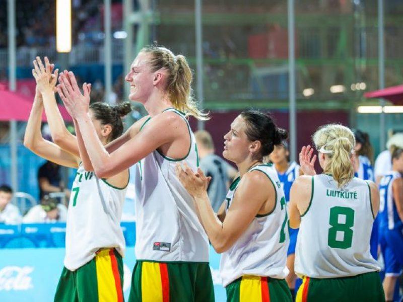 Azerbaidžano sostinėje Lietuvos krepšininkės laimėjo ir prieš žydes