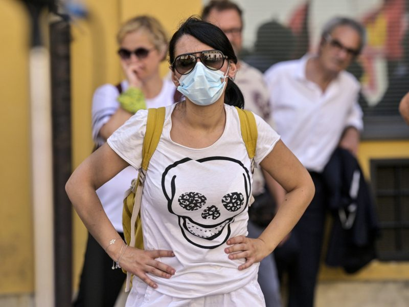 Italijoje – didžiausias naujų infekcijų skaičius nuo gegužės pradžios