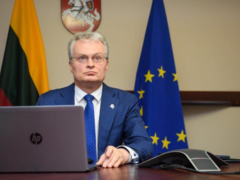 G. Nausėda: turime užtikrinti, kad JAV dėmesys Lietuvos saugumui išliktų nepakitęs