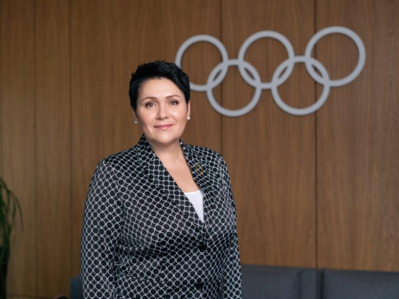 Įvertinimas: D. Gudzinevičiūtė išrinkta Europos olimpinių komitetų asociacijos viceprezidente