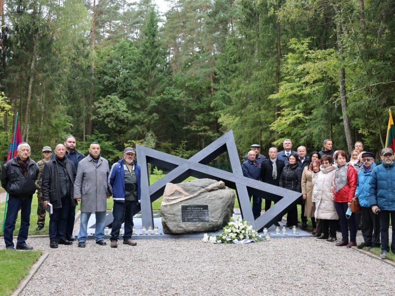 Paminklas žydų genocido aukoms Jaučakiuose