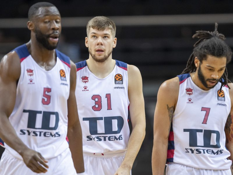 """""""Baskonia"""" su patikimai žaidusiais lietuviais iš duobės išsiropštė Milane"""