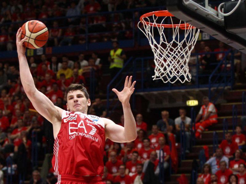 Krepšininkas A. Gudaitis mače su CSKA pelnė 16 taškų